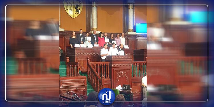 عطلت أشغال المجلس: عبير موسي تعتلي منصة رئاسة البرلمان
