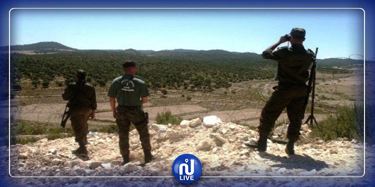 توزر:القبض على 4  أجانب اجتازو الحدود البرية خلسة