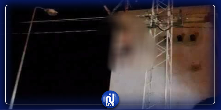 سيدي بوزيد: انتحار شاب شنقا  في عمود كهربائي