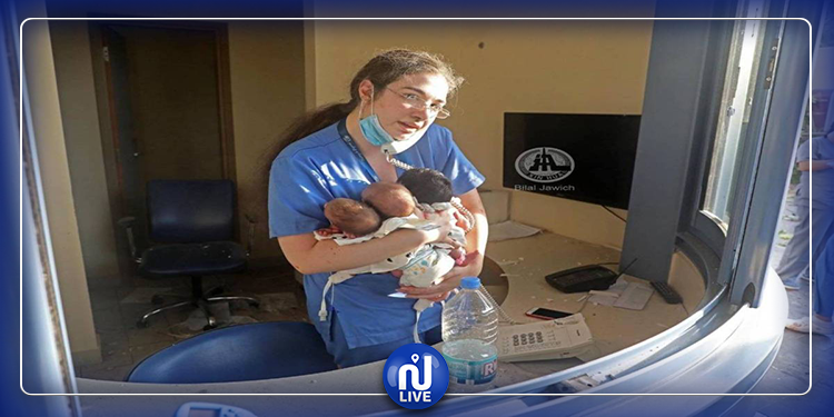 ممرضة لبنانية تروي تفاصيل مروعة عن لحظة الانفجار (فيديو)