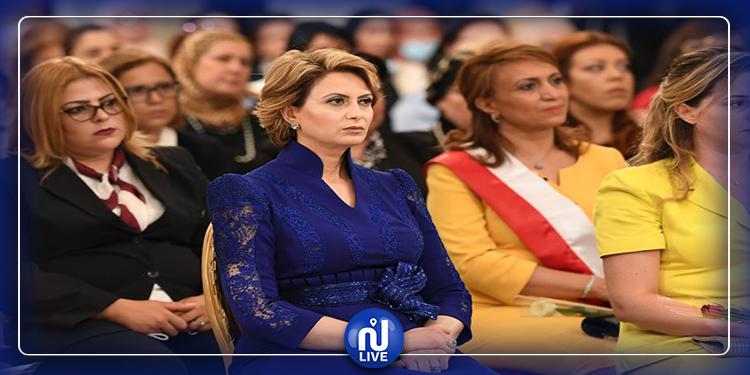في عيد المرأة..أول ظهور رسمي لزوجة رئيس الجمهورية
