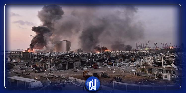لقطة جوية  تكشف حجم الأضرار التي خلفّها تفجير بيروت(صورة)