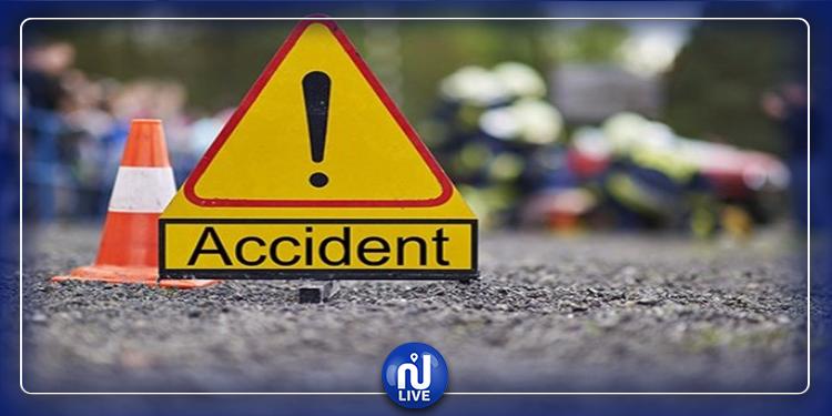 سيدي بوزيد: حادث مرور يخلّف 8 جرحى