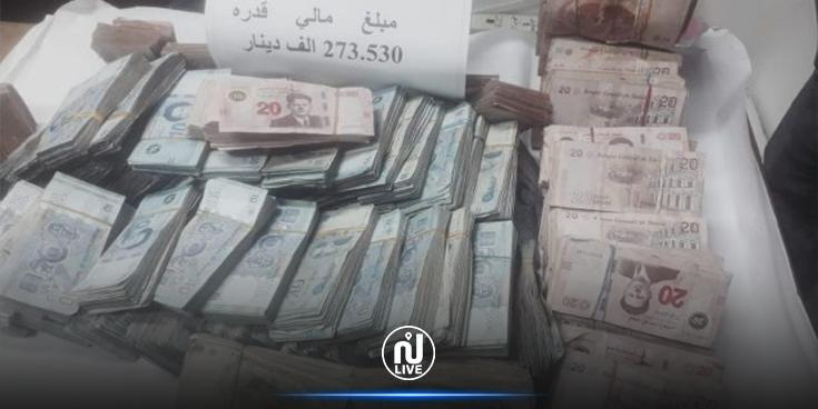 القبض على شخصين بحوزتهما 273 ألف دينار
