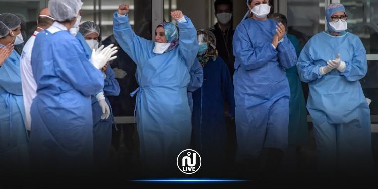 117 حالة شفاء من كورونا في بنزرت