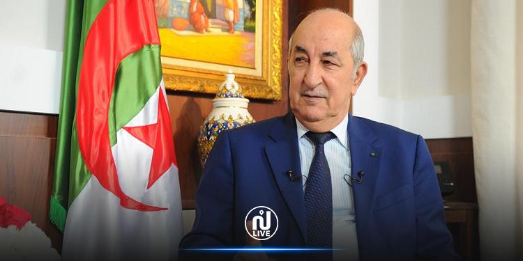 تبون: لن نشارك في أي عملية تطبيع مع دولة الاحتلال