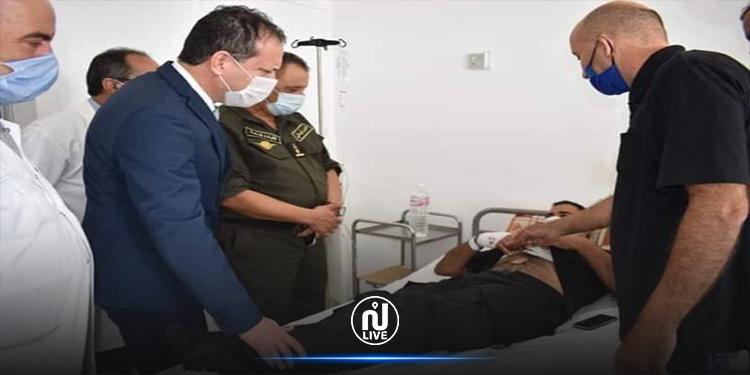 إثر اشتباك  مع مجموعة من المنحرفين: إصابة عوني أمن بالمهدية