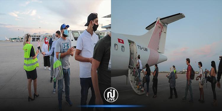 استئناف الرحلات  باتجاه مطار توزر نفطة الدولي