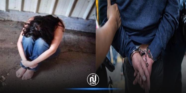القبض على شخص أثناء محاولته تحويل وجهة أنثى