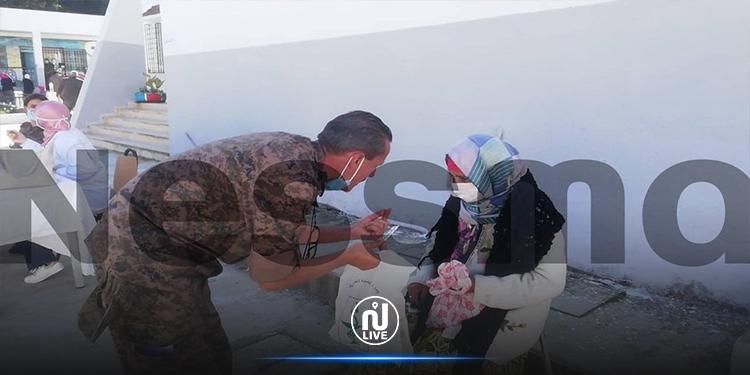 جندوبة : القافلة الصحية العسكرية تقدم 316 عيادة ببني مطير