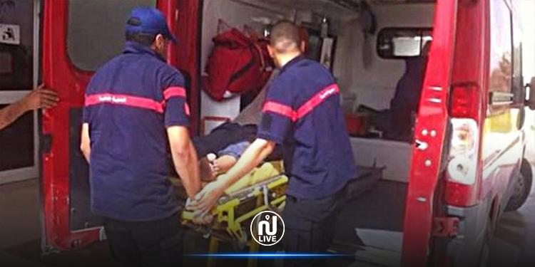 تطاوين :  حادث مرور يخلّف 7 إصابات