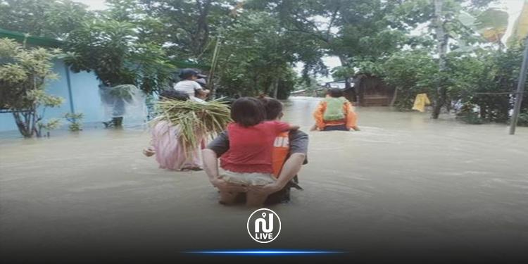 إعصار ''مولاف''  يجتاح الفلبين ويشرد الآلاف