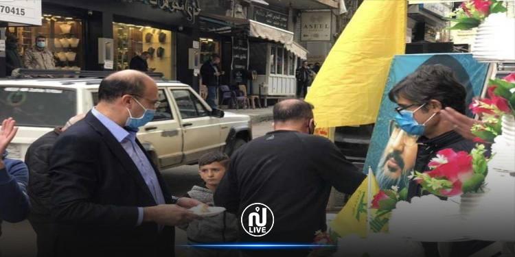 رغم قيود كورونا..وزير الصحة اللبناني يشارك في الاحتفال بعيد ميلاد نصر الله