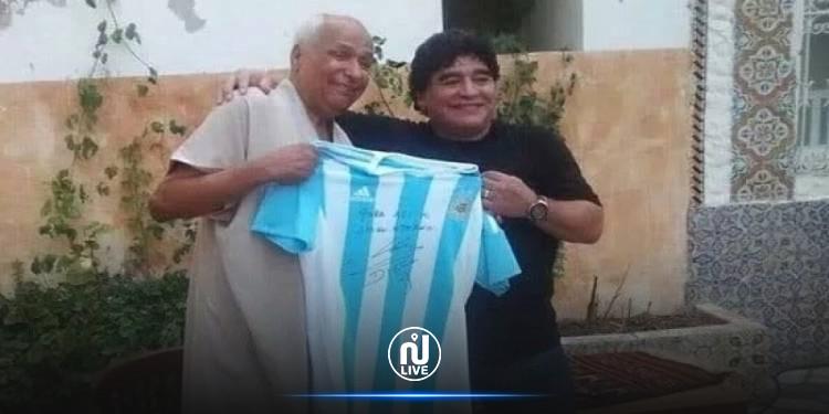 علي بالناصر:  لولا الظروف الصحية لحضرت في موكب دفن مارادونا