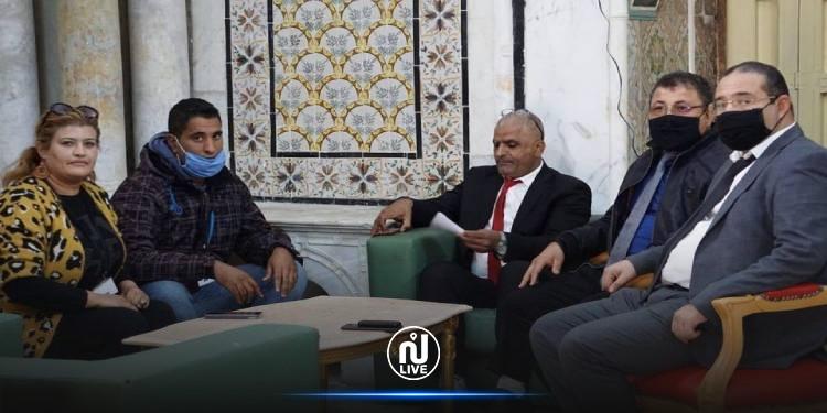 نواب قلب تونس يستمعون إلى مشاغل  أعوان وعملة الاعتمادات المفوضة