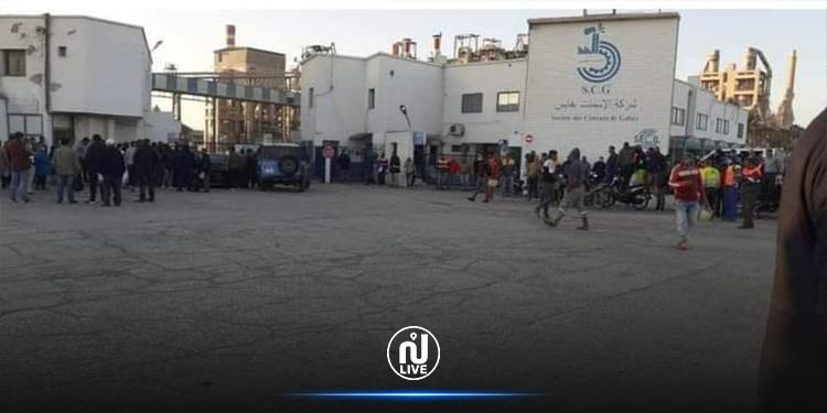 قابس: رفع اعتصام المعطلين عن العمل من أمام مصنع الإسمنت
