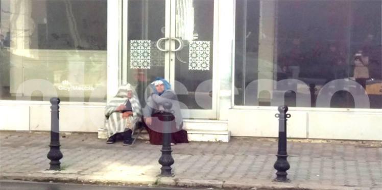 ظاهرة التسول في تونس الليلة على نسمة