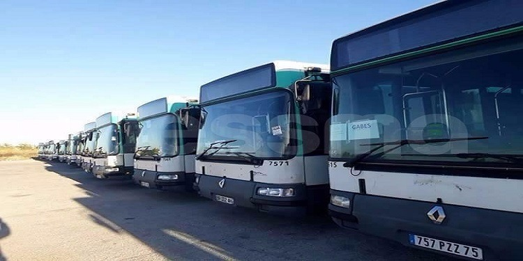 تعزيز أسطول الشركة الجهوية للنقل بقابس بـ18 حافلة مستعملة (صور)