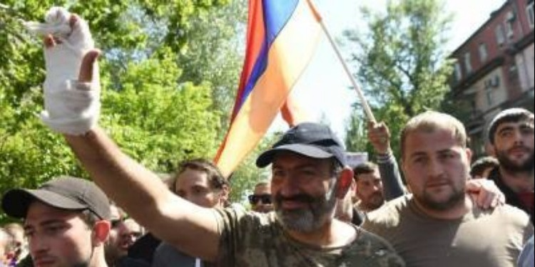Arménie-Opposition: Commémoration du 103e anniversaire du génocide arménien