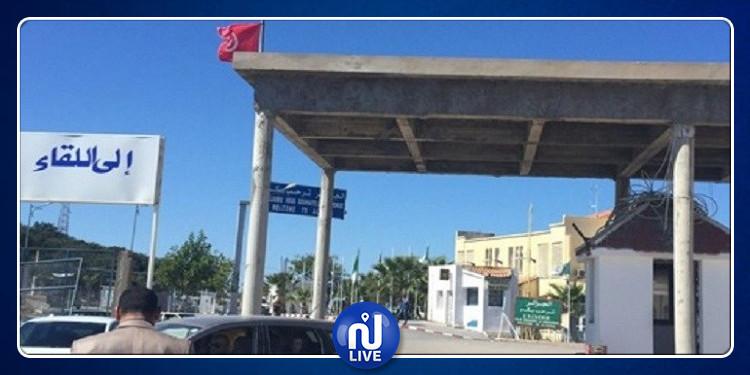 المعبر الحدودي بالطالب العربي: تونسيون عالقون منذ ساعات (صور)