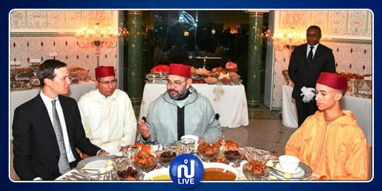 صهر ترامب في ضيافة ملك المغرب على مائدة افطار