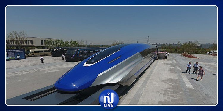 Chine: Un train ultra rapide atteignant les 600 km/h