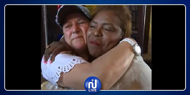 جربة : لقاء مؤثر بين يهودية وصديقتها المسلمة بعد 15 سنة (فيديو)