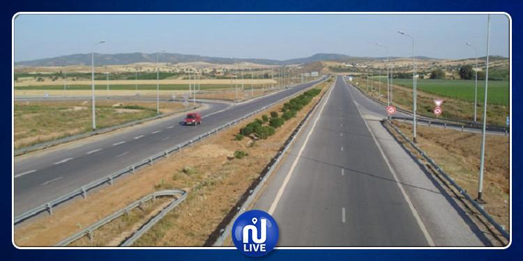 تقدّم أشغال تهيئة الطريق الوطنية عدد 15 الرابطة بين قفصة وقابس