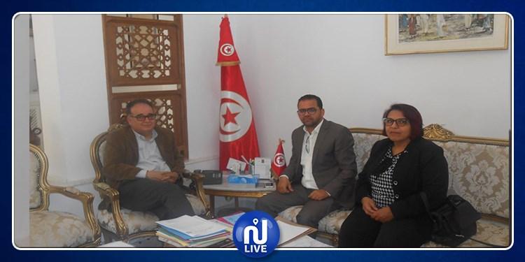 لقاء بين وزير الشؤون الاجتماعية والكنفدرالية العامة التونسية للشغل حول هذه المسائل