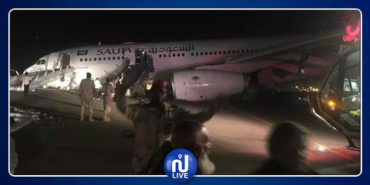 هبوط اضطراري لطائرة سعودية لإنقاذ حياة رضيع