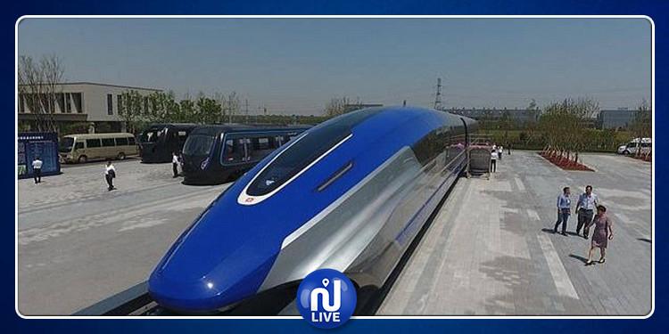 الصين تطوّر قطارا بسرعة خيالية