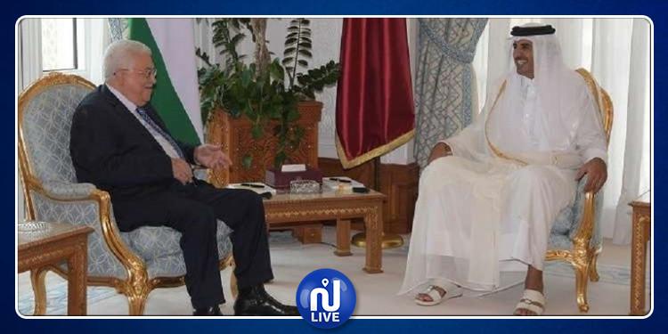 فحوى لقاء أمير قطر والرئيس الفلسطيني
