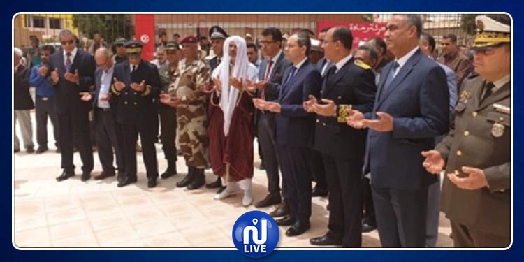 وزير الداخلية يشرف على احياء الذكرى 61 لمعركة رمادة