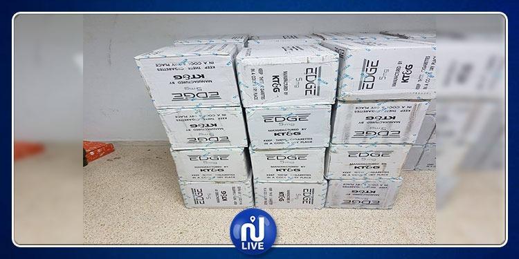 المنستير: حجز 330 علبة سجائر  و8 كلغ معسل مجهول المصدر