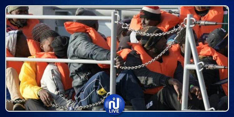 إنقاذ قرابة 400 مهاجر  بالمتوسط