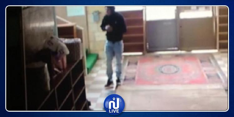 جربة: سرقة صندوق التبرعات من مسجد عمر ابن الخطاب (صور)