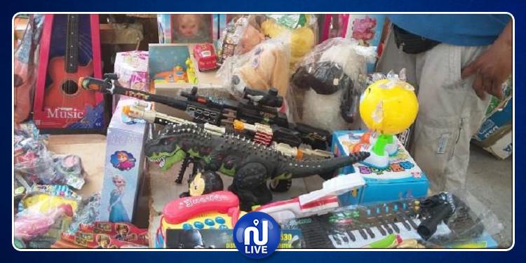 سيدي بوزيد: حجز كميات من الألعاب والمواد الغذائية منتهية الصلوحية