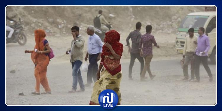 الهند: مصرع 19 إثر عاصفة رملية وصواعق رعدية