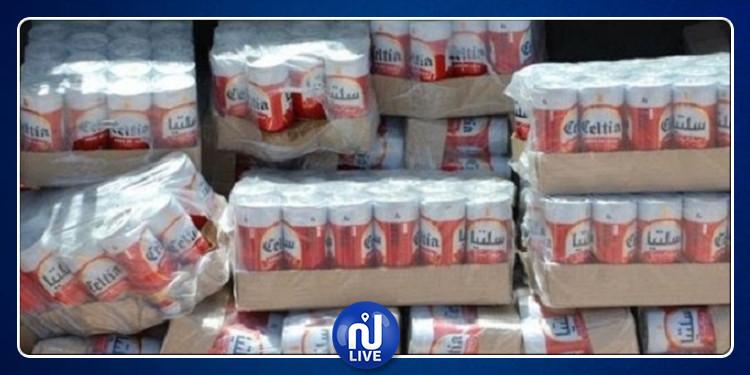 العاصمة : حجز 48 ألف علبة جعة