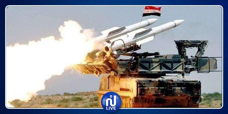 إطلاق صاروخين من سوريا باتجاه الكيان الصهيوني