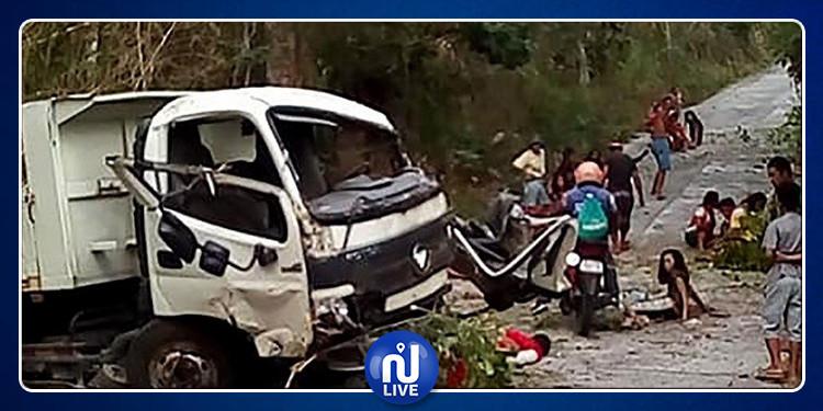 من بينهم العريس: مقتل 13 شخصا في الفلبين بعد عودتهم من حفل خطوبة
