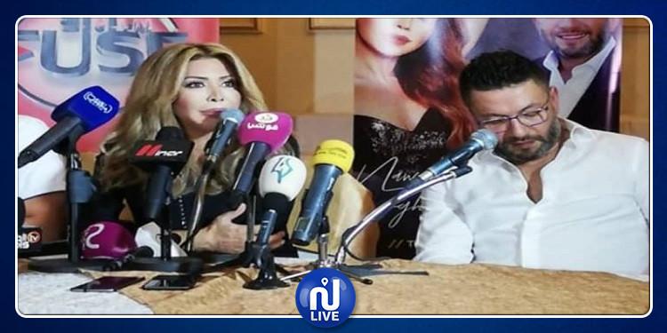 زياد البرجي ينفعل بعد تعرضه لموقف محرج بحضور نوال الزغبي (فيديو)