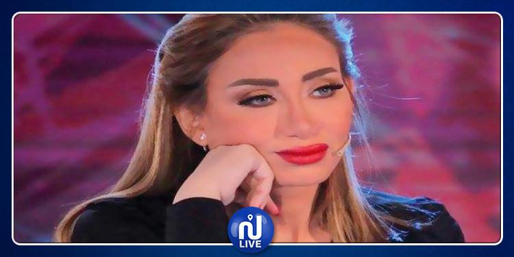 المذيعة المصرية ريهام سعيد تصاب ببكتيريا خطيرة تؤدي إلى الموت المبكر