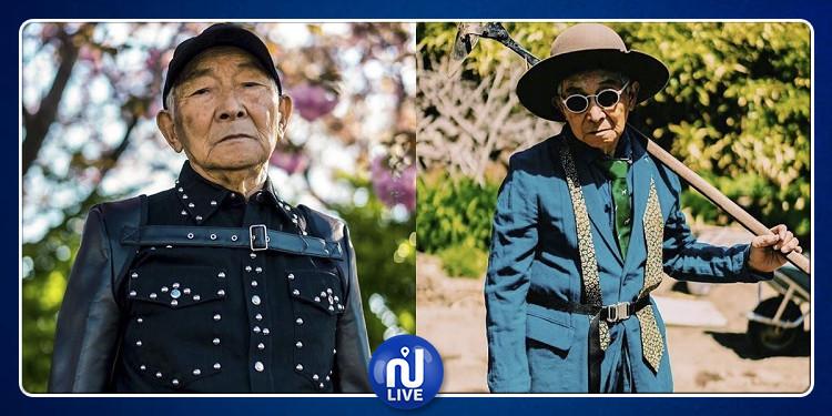 عجوز الـ 84 عاما يقتحم عالم الأزياء
