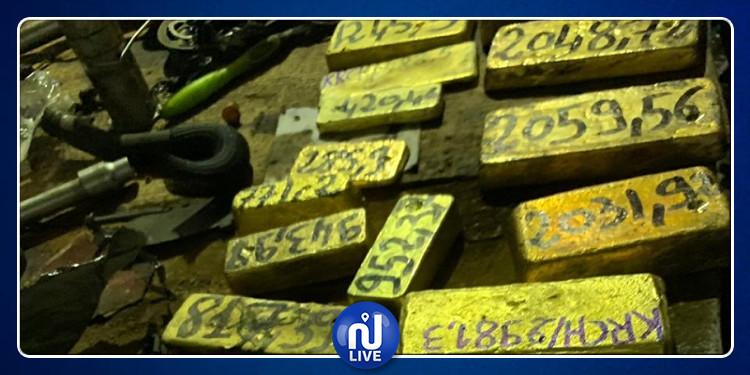بقيمة 5 مليارات: الديوانة تحجز 46 كلغ من الذهب