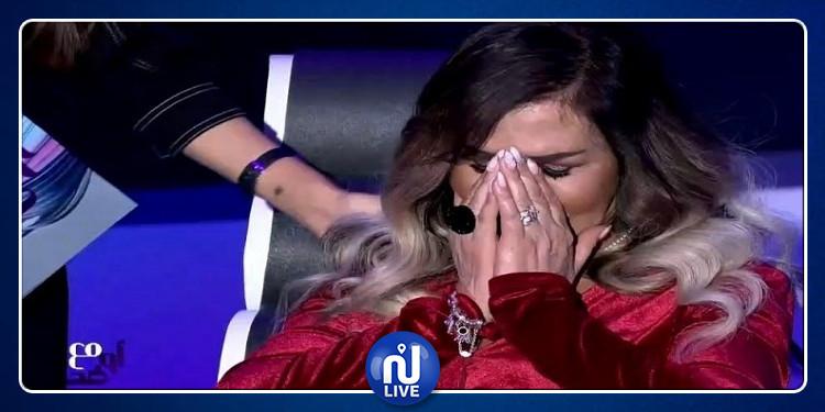 ممثلة سورية تنهار على الهواء بعد تشوّه وجهها من عمليات التجميل (فيديو)