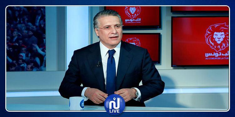 نبيل القروي يدعو رئيس الجمهورية لإجراء استفتاء شعبي