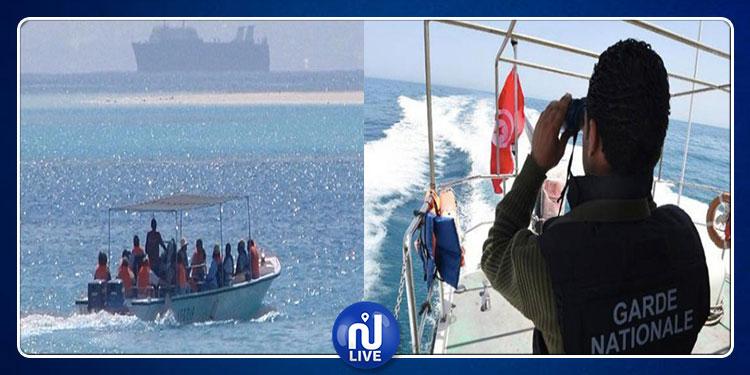 قليبية: القبض على 5 أشخاص كانوا يعتزمون اجتياز الحدود البحرية خلسة