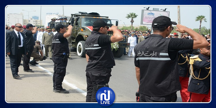 بعد تفانيهم في تأمين جنازة السبسي: وزير الداخلية يتوجه برسالة الى أعوان وإطارات قوات الأمن الداخلي