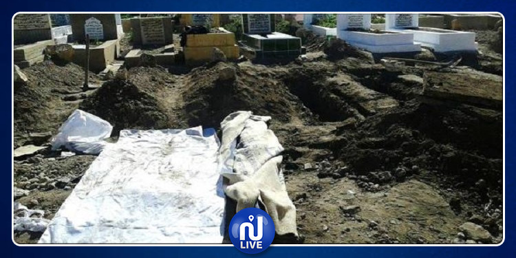 إمرأة تخرج من القبر حيّة بعد دفنها